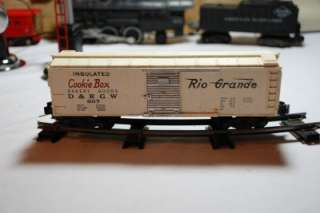 American Flyer Rio Grande Box Car # 807 By A.C. Gilbert Co.