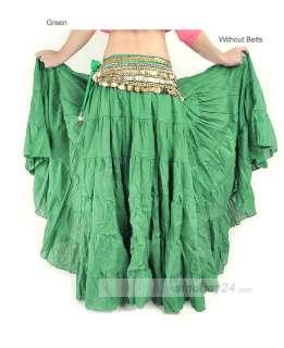 C91406 Women Belly dance Costume Three layers Skirt