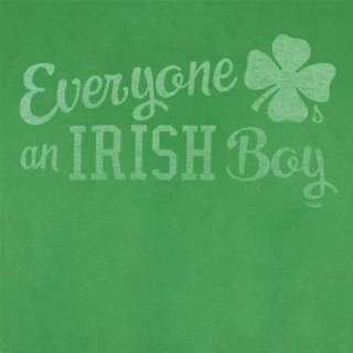 St. Patricks Day Everyone Loves Irish Boy Green Graphic T Shirt
