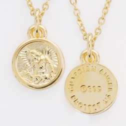 gold medal guardian angel this beautiful children s jewelry design