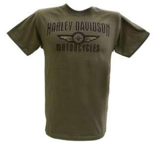 Harley Davidson Las Vegas Dealer Tee T Shirt GREEN LARGE #RKS