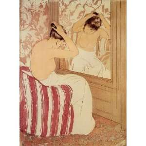 Hand Made Oil Reproduction   Mary Stevenson Cassatt   32 x