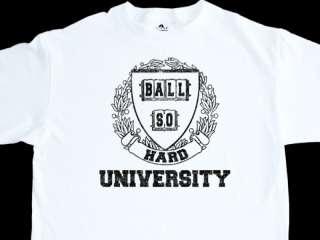 BALL SO HARD UNIVERSITY SIZE XL WHITE DJ T SHIRT SUGGS