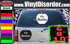 The Beatles Apple Band Vinyl Car or Wall Decal Sticker