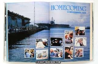 USS AMERICA CV 66 CRUISE BOOKS 1981 1982 & 1982 1983