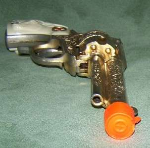 HUBLEY GOLD TEXAN TOY CAP GUN