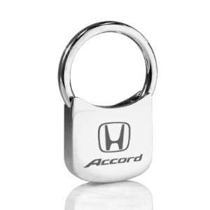 Honda Accord Chrome Plated Metal Key Chain Automotive