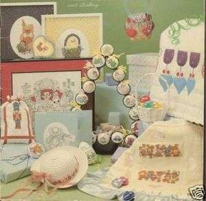 Holiday Lucy Rigg Cross Stitch Book w Quilt Patterns 41 P Ornaments