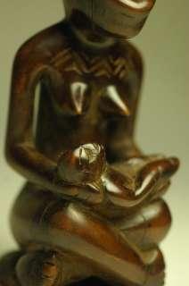 Yombe / Kongo PHEMBA Maternity Figure   ARTENEGRO African Tribal Arts