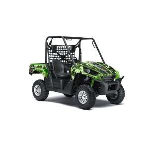 AMR Racing Kawasaki Teryx 750 2010, 2011 UTV Side X Side Graphic Decal