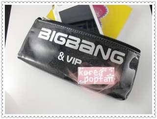 BIGBANG big bang V.I.P KPOP BLACK PEN PENCIL CASE TYPE A NEW