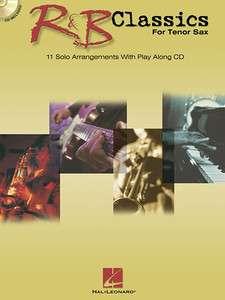 Classics Tenor Sax Saxophone Sheet Music Book & CD