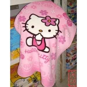 Mini smaill size baby kid child gift Hello Kitty Car Bed Fleece Baby