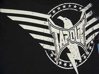 TAPOUT THUNDERBIRD EAGLE STARS MENS T SHIRT SMALL