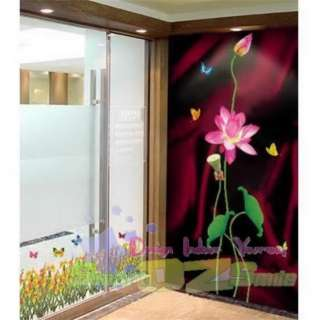 LOTUS BLOSSOM ♥Art Decor Mural Wall Stickers Decal
