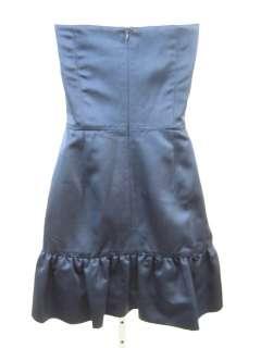 CHLOE & REESE Dark Blue Tube Top Short Dress Size 4