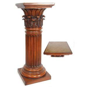 Passport accent 2114 plant stand oil rubbed bronze - Column pedestal plant stand ...