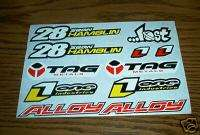 METALS LOST ENERGY MOTOCROSS ATV UTV QUAD BMX STICKERS DECALS