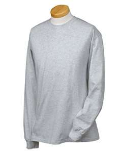 Hanes Mens Tagless Long Sleeve T Shirt S L 20 COLORS