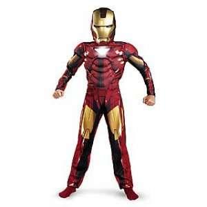 Iron Man 2   Mark VI Classic Muscle Child Costume Size 7 8