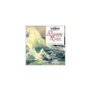 Piano Quintet / String Quartet Vierne, Athenaeum, Tacchino Music