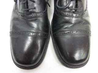 BOSTONIAN Mens Black Leather Lace Up Oxfords Shoes 8.5