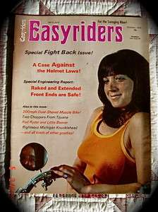 EASYRIDERS MAGAZINE *5* Vol.2 * October, 1972*