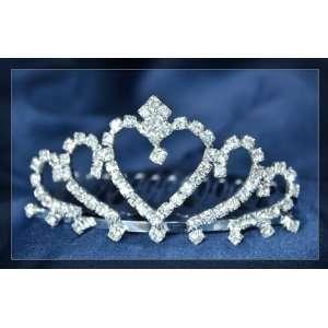 Alloy with Rhinestones Crystal Wedding Bridal Crown Tiara T02 Beauty