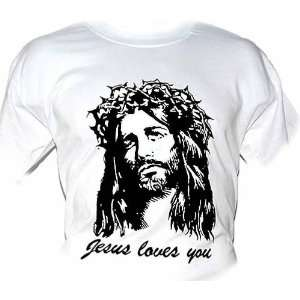 Jesus Loves You T Shirt (11 Colors Sizes S   XXL) From
