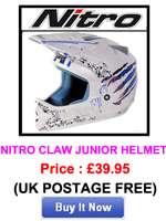 Anti Fog Pinlock Insert for Nitro Motorcycle Motorbike Helmet