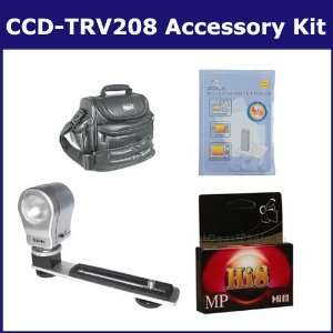 Sony CCD TRV208 Camcorder Accessory Kit includes HI8TAPE Tape/ Media