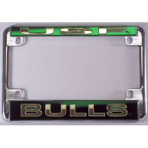 University of South Florida USF Bulls Chrome Motorcycle RV