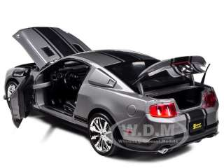 2010 SHELBY MUSTANG GT 500 SUPER SNAKE GREY 1/18 SHELBY COLLECTIBLES