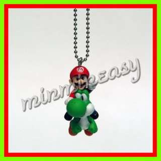Nintendo Wii Tomy Super Mario Bros keychain figure x 8