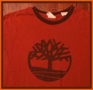 Timberland Urban Clothing Hip Hop Logo T Shirt S