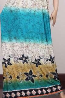 KIMONO Boho retro HIPPIE Evening Plus Dress MAXI M/L/XL