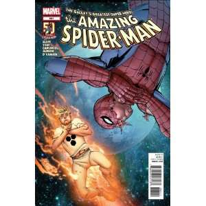Amazing Spider man #681 Spider man and the Human Torch Are Trapped on