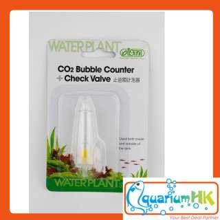 ISTA Aquarium 2 in1 Co2 Bubble Counter Check Valve I564