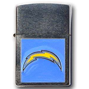 SAN DIEGO CHARGERS NFL BRUSHED CHROME ZIPPO LIGHTER