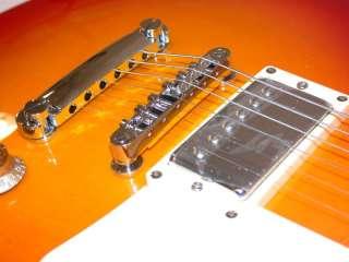 Main Street Single Cutaway Electric Guitar, Crown Inlay
