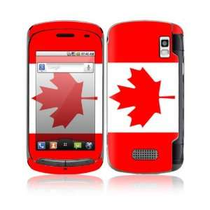 Canadian Flag Design Decorative Skin Cover Decal Sticker