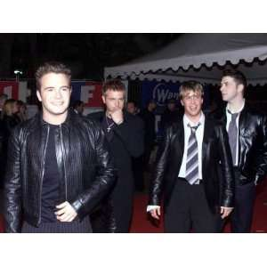Westlife Band Arrive at NRJ Music Awards in Cannes, France, January