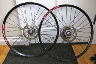 CHRIS KING STANS ZTR OLYMPIC plus Avid ROTORS MOUNTAIN BIKE WHEELSET