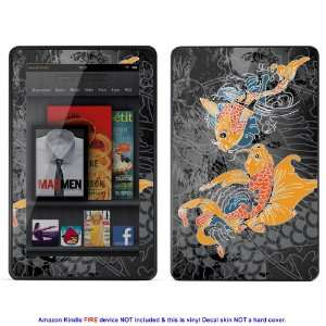 Skin sticker for  Kindle Fire case cover Kfire 494 Electronics