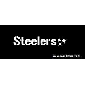 Pittsburgh Steelers Car Window Decal Sticker 8 Automotive