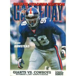 Giants Gameday Magazine: The Official Game Program: Giants vs. Cowboys