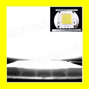PC 100W WATT STAR HIGH POWER WHITE LED Light 7000Lm