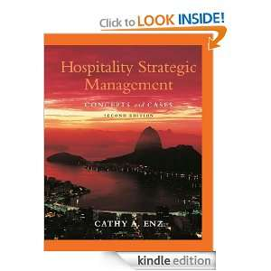 Hospitality Strategic Management Concepts and Cases [Kindle Edition]
