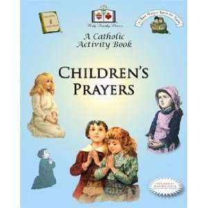 Childrens Prayers Catholic Activity Book