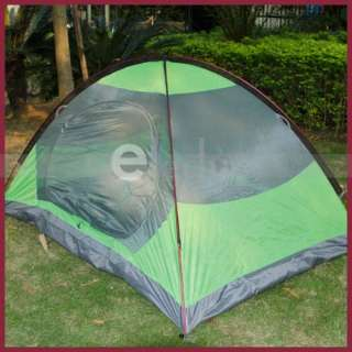 Outdoor Camping Folding Tent 1 2 Person Double Layer Waterproof Tent